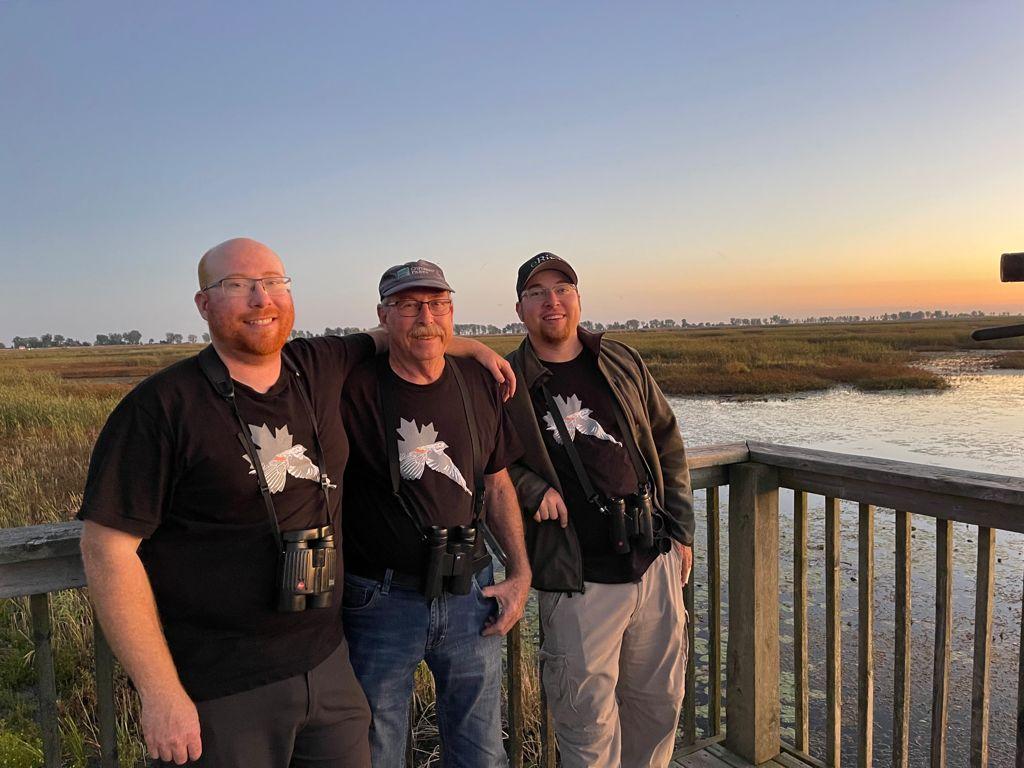 Fall migration rewards Birdathoners